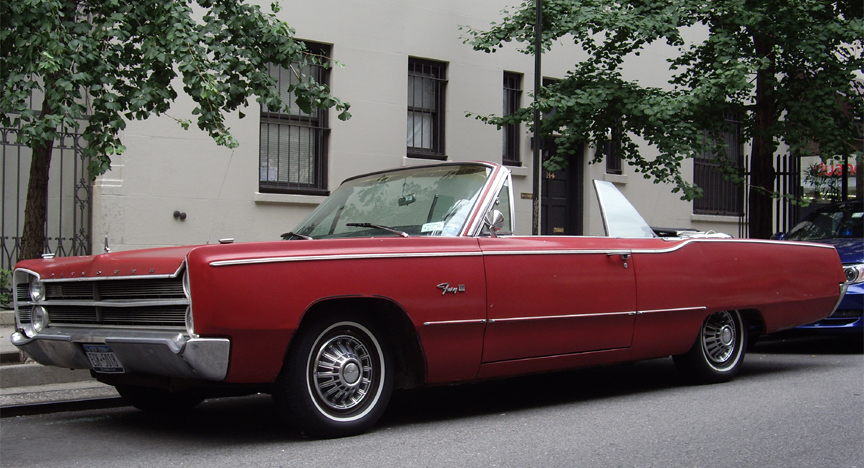 Bill Sorices' 1967 Plymouth Fury III Convertible Picture Car
